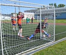 Финал соревнований по мини-футболу (Кировский район)