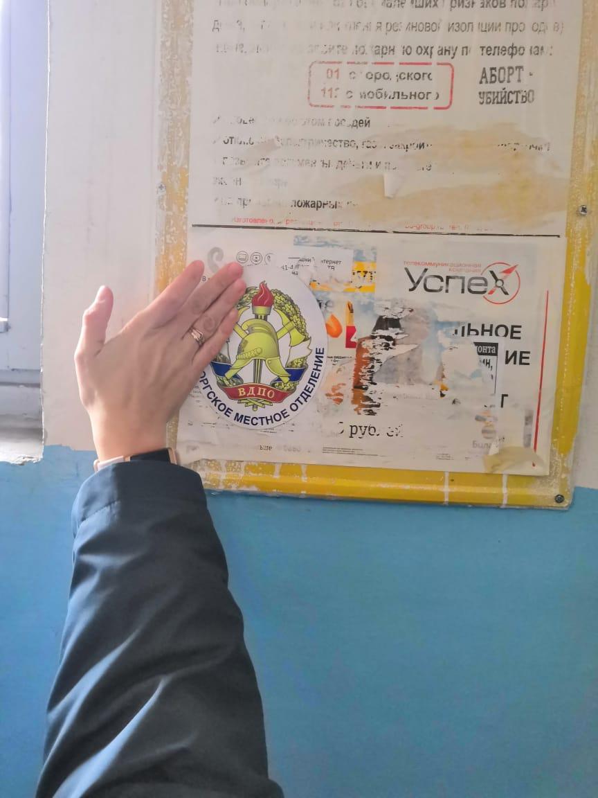 Распространению агитационных материалов в Выборгском районе