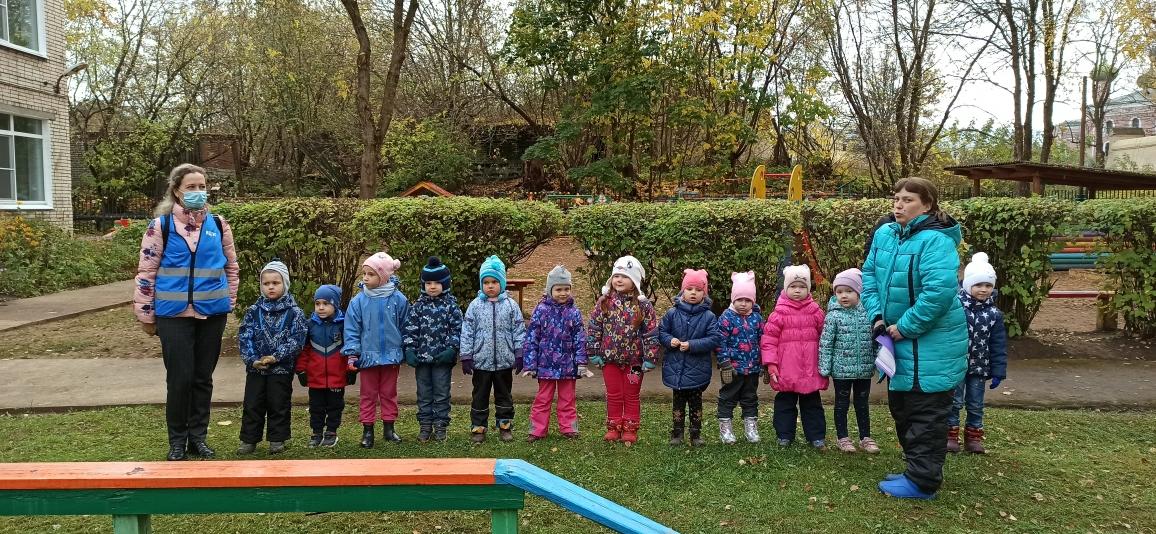 Тренировка по эвакуации в детском саду Тихвинского района